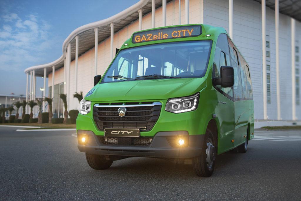 Газель Сити для городских перевозок