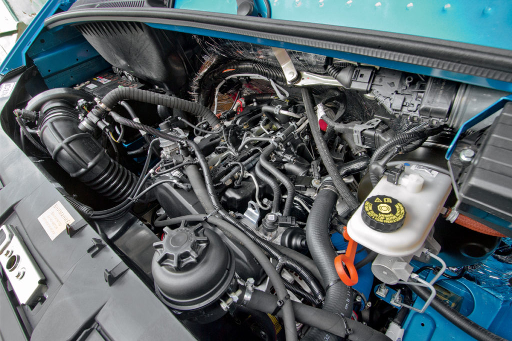 Старт продаж Газели Next с турбодизелем Volkswagen
