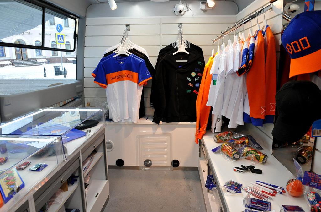 мобильный магазин на базе Газель Сити